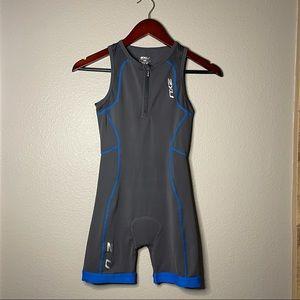 2XU | blue and grey compression trisuit tri suit